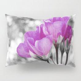 Fuchsia fLOWERS Pop Of Color Pillow Sham