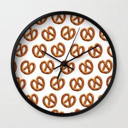 PRETZEL TIME! Wall Clock
