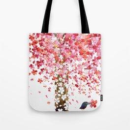 CHERRY WIND Tote Bag