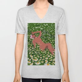 To Disappear Unisex V-Neck