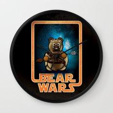 Bear Wars - Raider Wall Clock