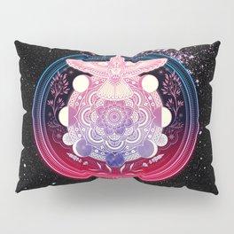 Hummingbird Mandala Pillow Sham