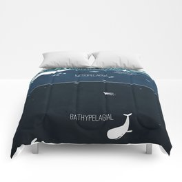 Deep Sea Layers Comforters