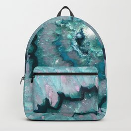Teal Agate Backpack