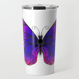 Tricolored Butterfly Travel Mug