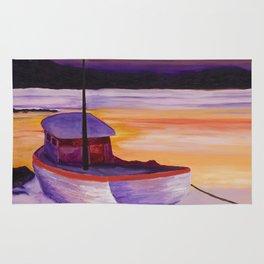 Purple Sunrise Rug