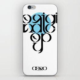 Original Copy iPhone Skin