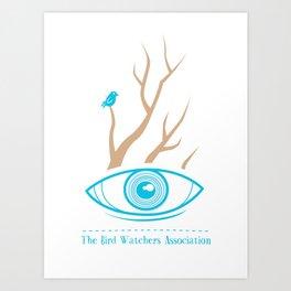The Bird Watchers Association Art Print
