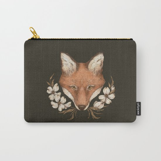 The Fox and Dogwoods by jessicaroux