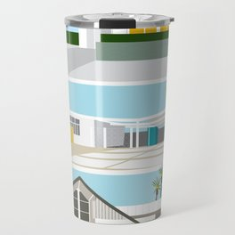 mid-centery house one, three, four Travel Mug