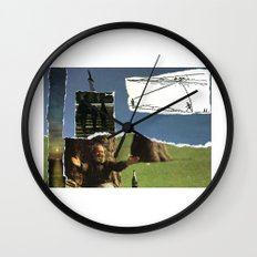 Sometimes You Have To Embrace It, Before It's Too Late Wall Clock