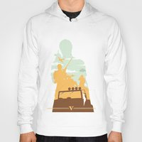 gta Hoodies featuring GTA V - TREVOR PHILIPS by ahutchabove