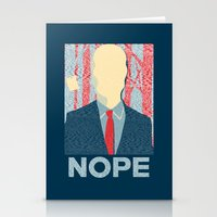 nope Stationery Cards featuring Nope by DandyBerlin