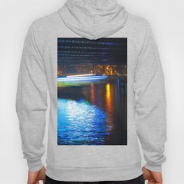 Floating Aqua Lighting Hoody