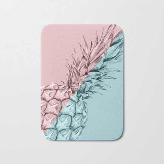 Pineapple 3 Bath Mat
