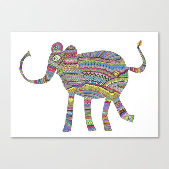 rainbow child Canvas Print