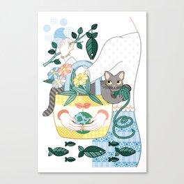 N・ECOBAG (remake) Canvas Print