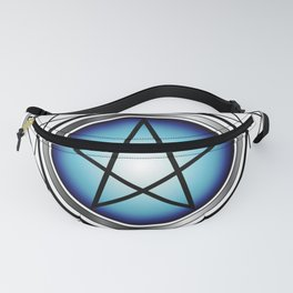 Glowing Pentagram Fanny Pack