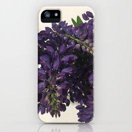 Purple Lupins iPhone Case