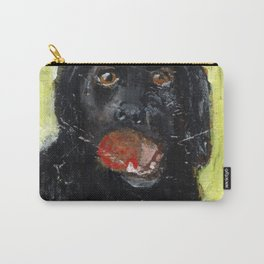 Dog with Red Ball Carry-All Pouch