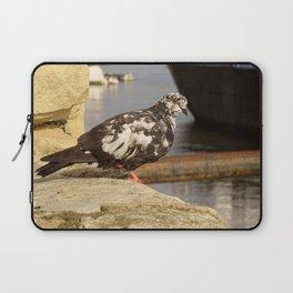 bird on the river Laptop Sleeve