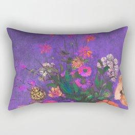 Tribute to summer Rectangular Pillow