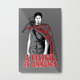 A Fistful of Arrows (variant) Metal Print