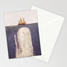 The Whale - exclusive purple variant  Stationery Cards