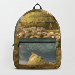 """Jean-François Millet """"Haystacks - Autumn"""" Backpack"""