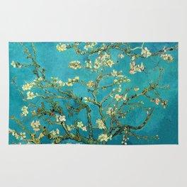 Vincent Van Gogh Blossoming Almond Tree Rug