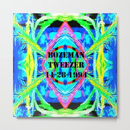 Bozeman Tweezer Metal Print