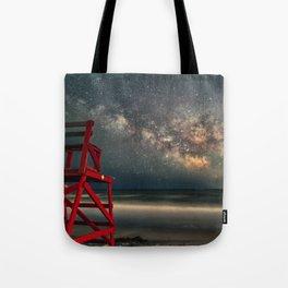 Milkyway at Good Harbor Beach 6-11-18 Tote Bag