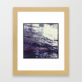 Watery Framed Art Print