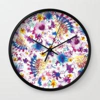 marine Wall Clocks featuring MARINE by BluePurple
