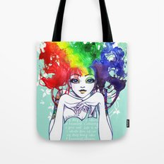 Spectra Tote Bag