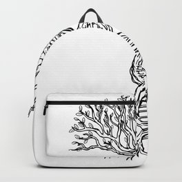DNA strand tree of life Backpack