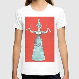 Snake Goddess T-shirt