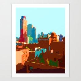 Upper East Side Art Print