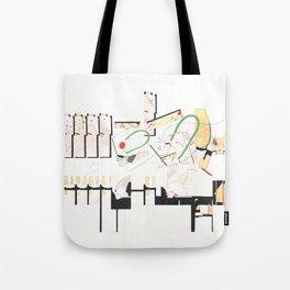floorplan Tote Bag