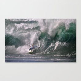 The Art Of Surfing In Hawaii 57 Canvas Print