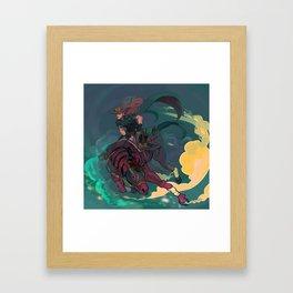 Jojo's Bizarre Adventure Steel Ball Run - Gyro Zeppeli Framed Art Print