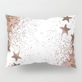 SHAKY STARS ROSEGOLD Pillow Sham