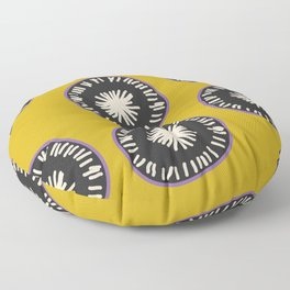 No More Lonely Radishes Floor Pillow