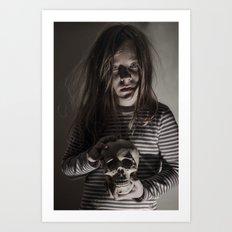 Come, sweet death Art Print