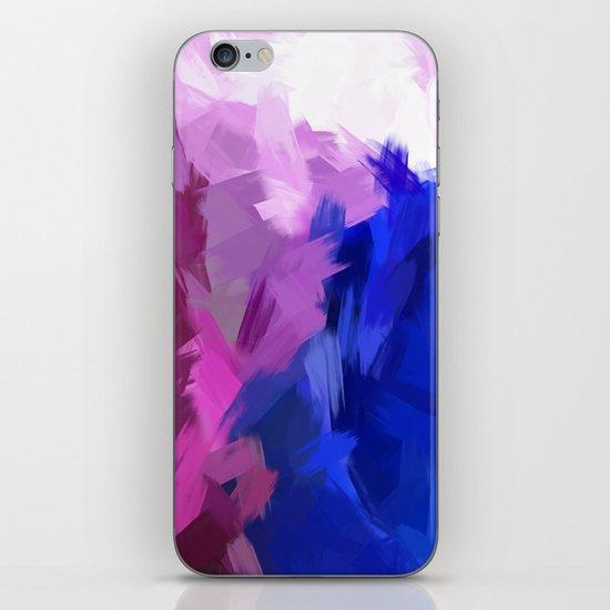 BLOSSOMS - PURPLE iPhone & iPod Skin