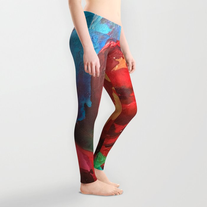 The Tulips Came Early Leggings