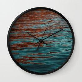 Lake Powell Firewater 2 Wall Clock