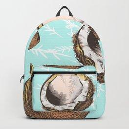Coconut vector design Backpack