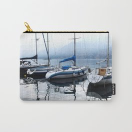 Boats on Lake Garda Carry-All Pouch