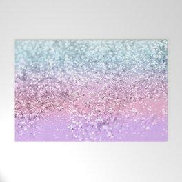 Unicorn Girls Glitter #4 #shiny #pastel #decor #art #society6 Welcome Mat